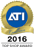 ATI 2016 National Top Shop Award