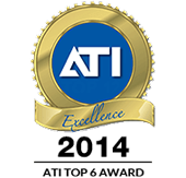 ATI 2014 National Top Shop Award