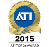 ATI 2015 National Top Shop Award